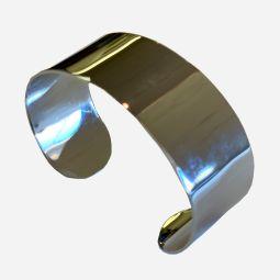 Chrome Cuff Bracelet